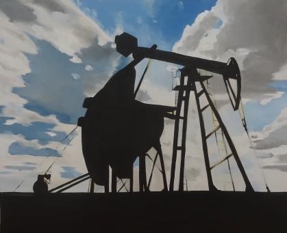 2018 huile sur toile, 73x60 cm.